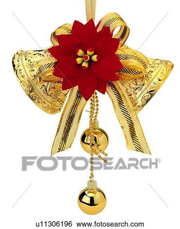 stock bilder weihnachten gold weihnachten glocke. Black Bedroom Furniture Sets. Home Design Ideas
