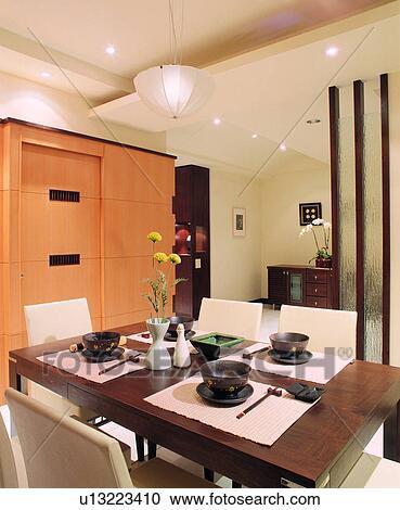banques de photographies style de vie salle manger architecture d coration meubles vie. Black Bedroom Furniture Sets. Home Design Ideas
