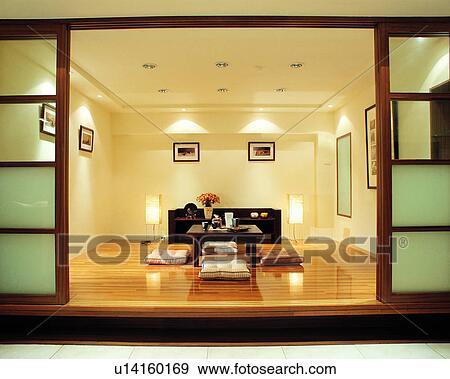 Banque de photographies meubles d coration plancher - Style de decoration interieure ...
