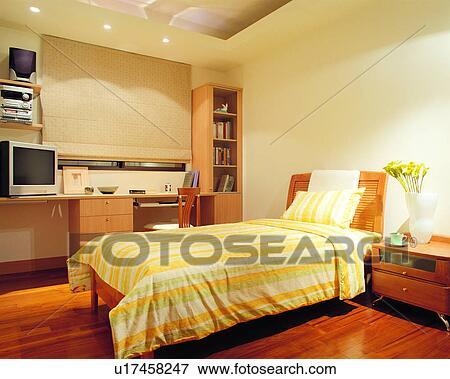 Image int rieur lit style de vie espace d coration - Style de decoration interieure ...