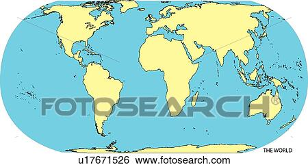 World map world map with countries continents of the world map of stock illustration of globe land sea world continents country world map showing continents and countries gumiabroncs Images