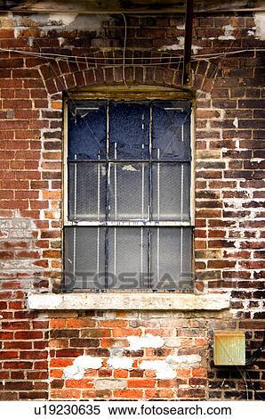 Stock Image Of Exterior Window On Brick Building U19230635