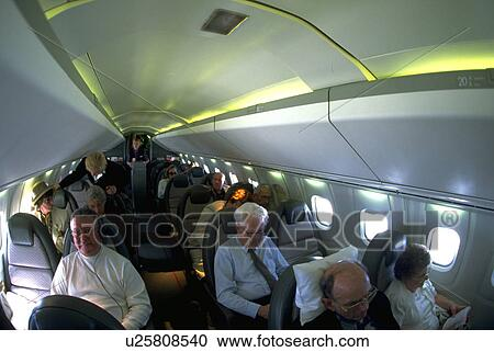 Concorde, Model, Flight, Airplane, Interior