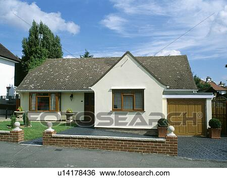 Small Bungalow With Attached Garage