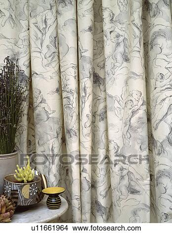 stock photo closeup of grey curtains fotosearch search