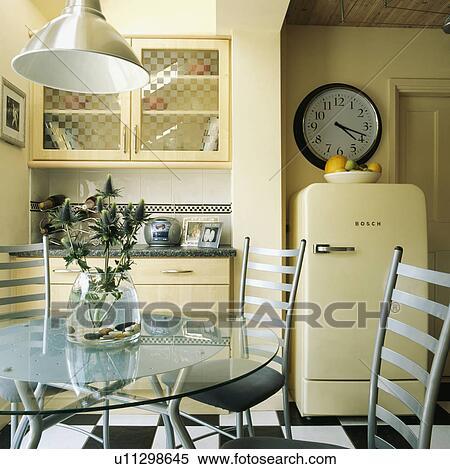 küche metall stühle | möbelideen, Esstisch ideennn