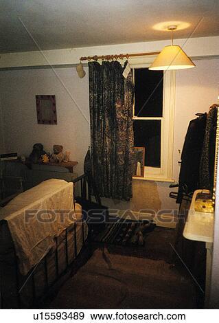 Banque de photographies d labr chambre coucher for Renovation chambre a coucher