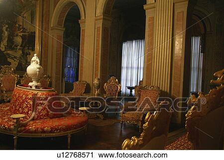 Stock Photography   Ornate Furniture Interior Room Dolmabahce Palace.  Fotosearch   Search Stock Photos,