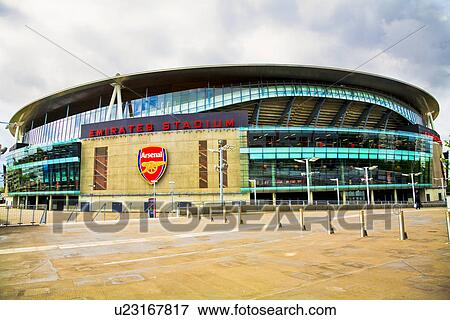 Picture of england london arsenal the emirates stadium for Emirates stadium mural