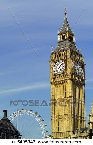 big ben and london eye clip art � cliparts