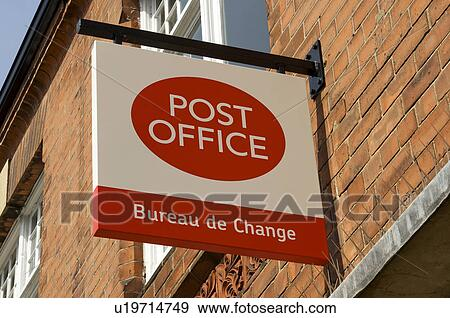 Stock photograph of england east riding of yorkshire - Post office bureau de change exchange rates ...