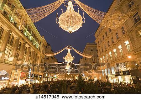 Christmas Shopping Winter Wien Am Graben Vienna