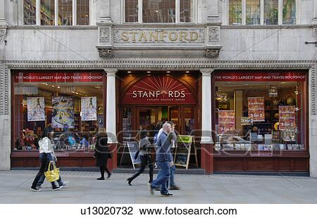 Stock Photo of England, London, Covent Garden, People walking past ...