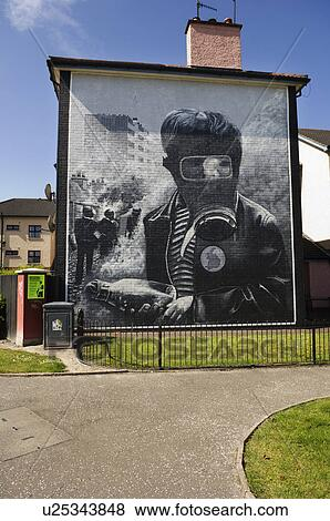 Images irlande nord comt londonderry londonderry a for Mural irlande