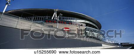 Stock photography of england london emirates stadium for Emirates stadium mural