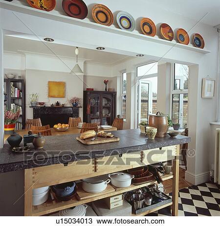 Archivio fotografico granito superato freestanding - Cucina freestanding ...