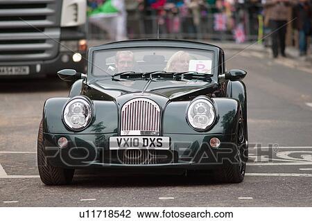 banque de photo angleterre londres ville de london a morgan aero supersports voiture. Black Bedroom Furniture Sets. Home Design Ideas