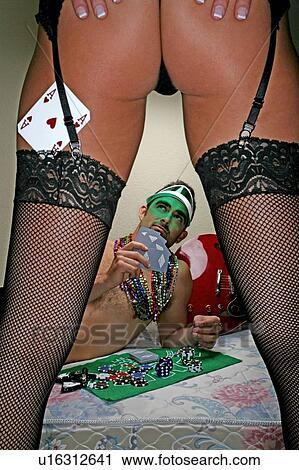 Bare Butt Strip Poker