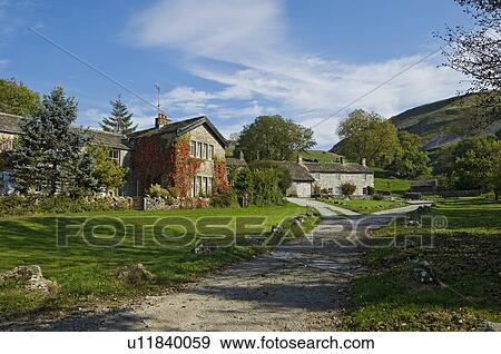 Archivio fotografico inghilterra yorkshire nord for Piccolo cottage inglese