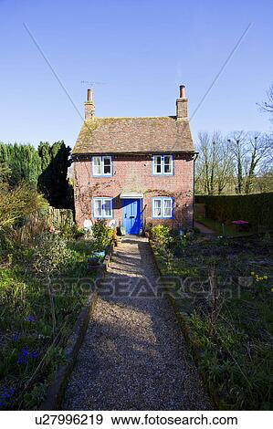 Banque de photographies angleterre kent chillenden a petit anglaise - Maison anglaise typique ...