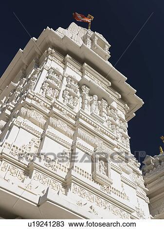 Stock Photo Of Tower Of The Swaminarayan Mandir Hand