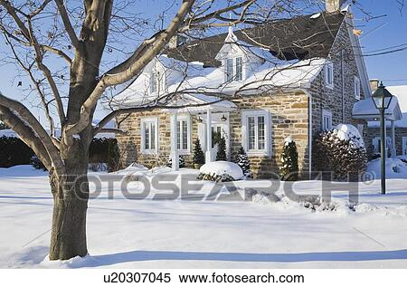 Archivio immagini vecchio canadiana fieldstone for Architettura in stile cottage