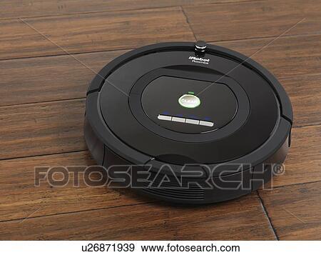 Stock Photograph Of Irobot Roomba 770 Household Vacuum