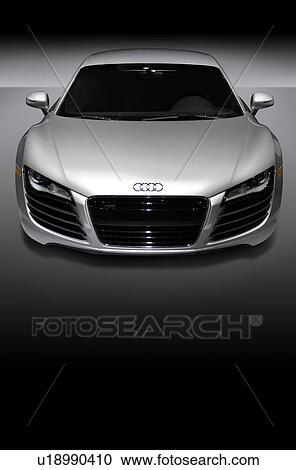 Audi R8 Car Black and White Clip Art – Cliparts
