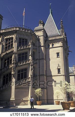 Archivio fotografico biltmore asheville biltmore casa for Disegni di casa chateau francese