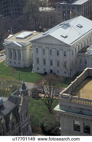 Stock Photograph of State Capitol, State House, Richmond, Virginia ...