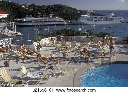Stock Photography Of U S Virgin Islands St Thomas Caribbean Usvi U S V I Virgin Islands