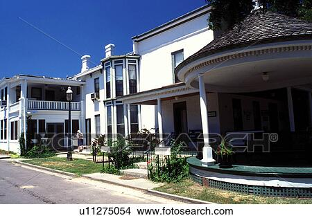 Stock Photo Of Hotel Council Grove Ks Kansas Flint Hills The