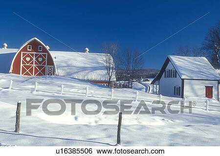 Red Barn Door Clip Art stock images of red barn, vermont, vt, snow-covered red barn