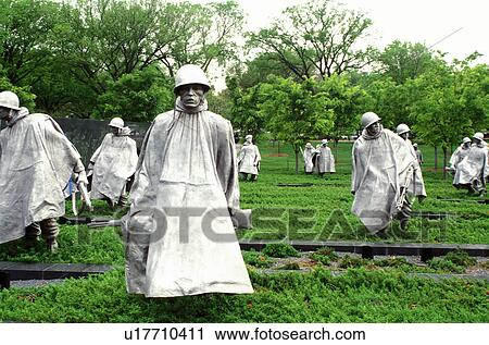 Korean War Memorial Statues Korean War Memorial