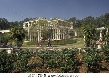 Stock Image Of Callaway Gardens Pine Mountain Georgia Ga Cecil B Day Butterfly Center At