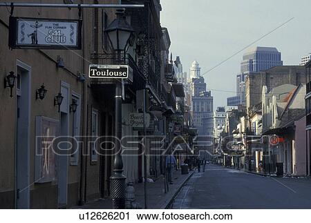 Stock photography of new orleans french quarter for Craft store new orleans