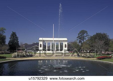 Stock Photograph Of Mobile Al Alabama Memorial Arch At