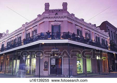 Stock image of french quarter new orleans la louisiana the