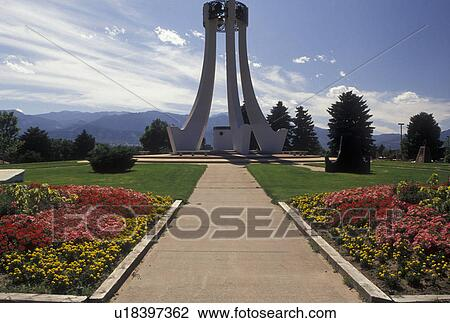 Stock photo of war memorial colorado springs co - Memorial gardens colorado springs ...