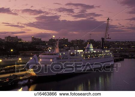 Stock Images Of Portland ME Maine Prince Of Fundy Cruise Ship - Portland maine cruise ship terminal