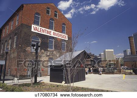 Stock Photo of Richmond, VA, Virginia, The Valentine Museum ...