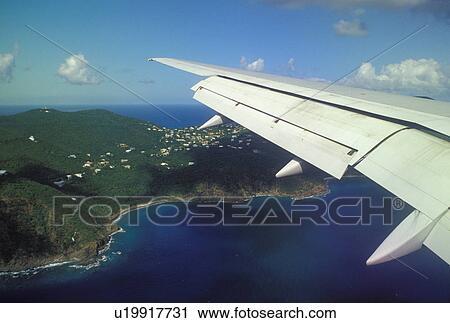 Airlines to virgin islands