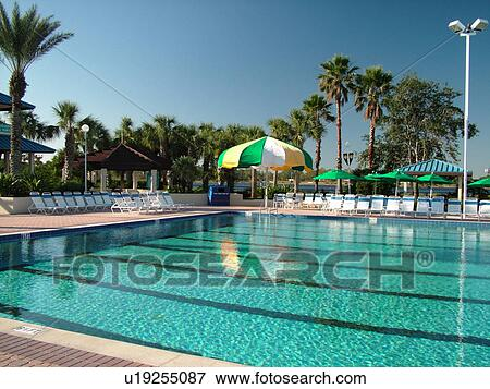 Orlando FL Florida Orange Lake Country Club And Resort Swimming Pool Olympic Size