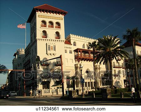 Stock photography of st augustine fl florida the old for Hotel casa cordoba