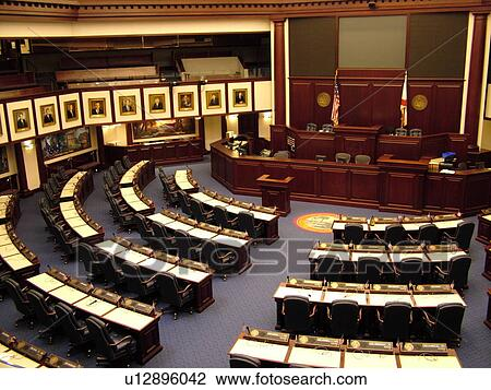 Stock Photo Of Tallahassee Fl Florida New State Capitol