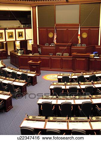 Stock Images Of Tallahassee Fl Florida New State Capitol State House Interior House Of