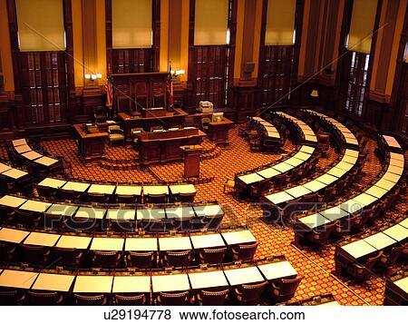 Pictures Of Atlanta Ga Georgia State Capitol State House Interior House Of Representatives