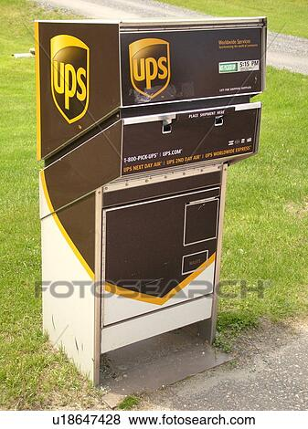 Picture - UPS drop box United Parcel Service. Fotosearch - Search Stock Photos & Pictures of UPS drop box United Parcel Service u18647428 - Search ... Aboutintivar.Com