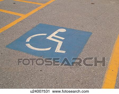 Stock Photography of parking space, Reserved Parking for ...