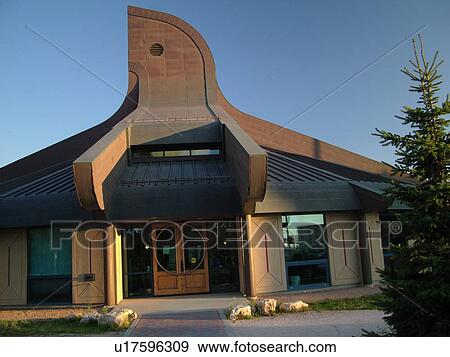 Stock Photograph   Winnipeg, Canada, MB, Manitoba, Circle Of Life Thunderbird  House